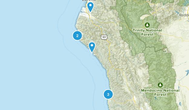 West coast Map