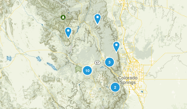 Colorado Wish List Map