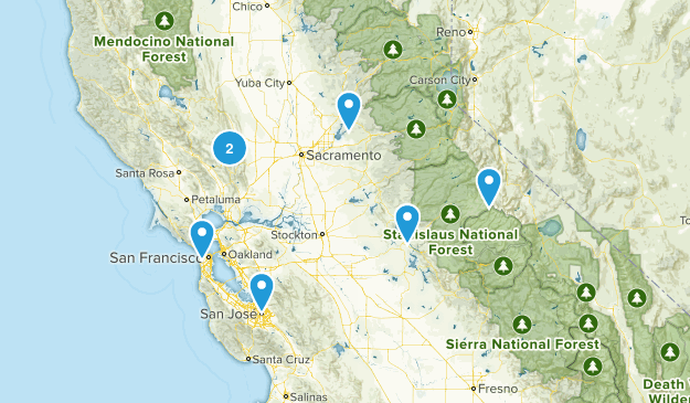 Dogtrails - Norcal Map