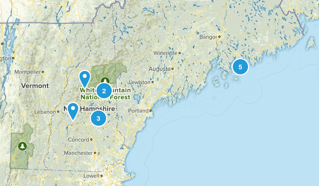 2015 Hikes Map