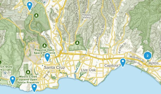 Seascape, CA Map