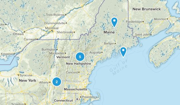 Bucket Hike Map