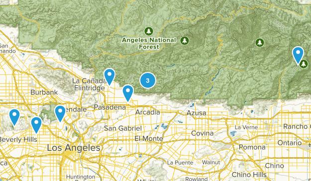Ca Trails Map