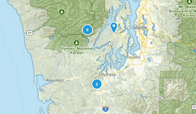 Trails to Hike!  Map