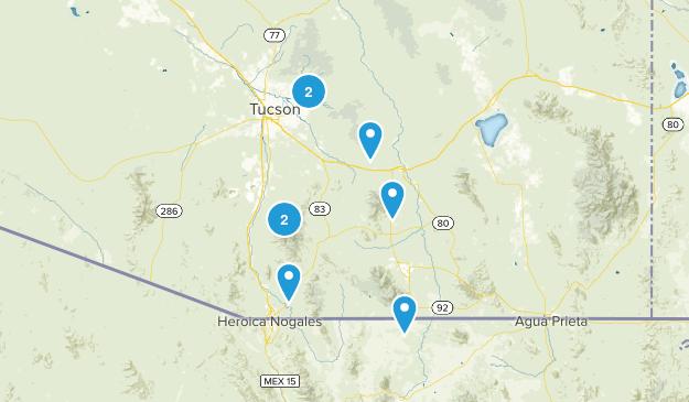 Sierra Vista Trails Map