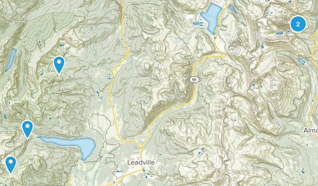 Leadville Map