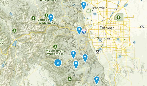 Denver_Hiking Map