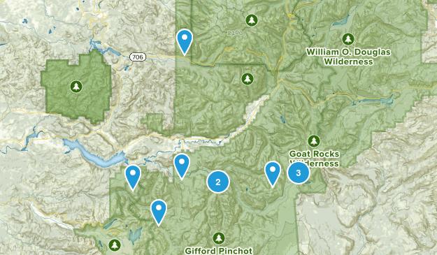 Randle area Map
