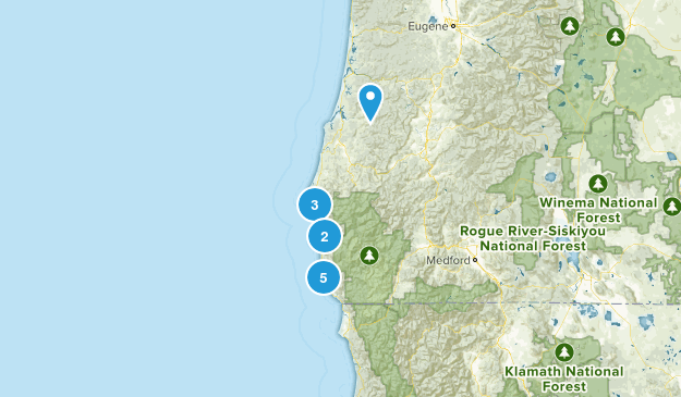 So OR Coast Map