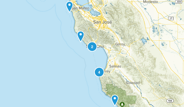 California Coast Map