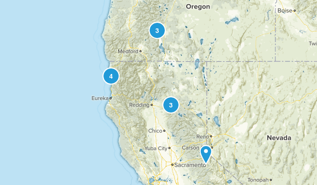 Hikes Map