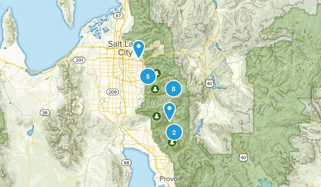Summer Hiking List Map