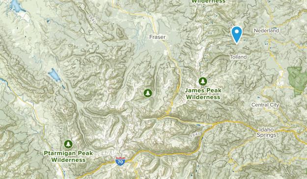 Colorado Trip Map