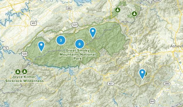 Smoky Mtn NP Map