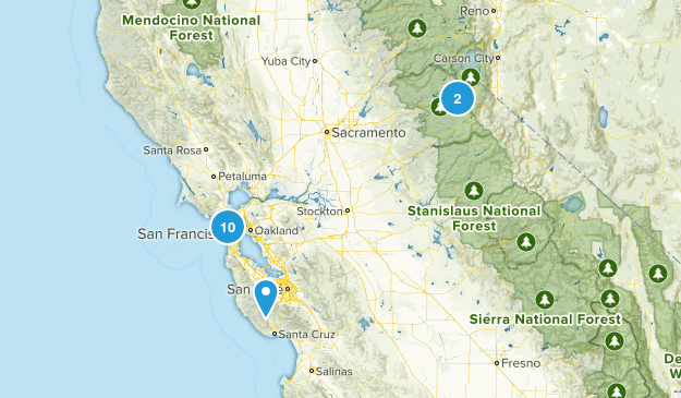 Bay Area Hikes To Do Map