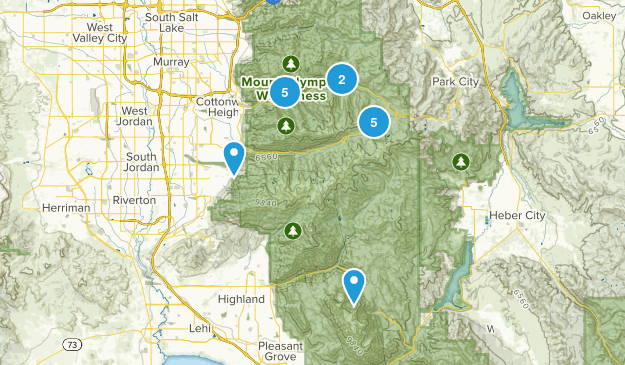 Hikes To Do Map