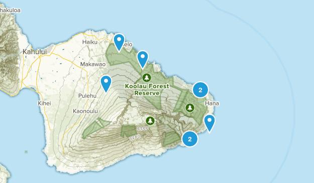 maui vacation Map