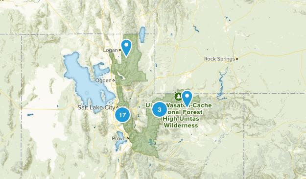 Salt Lake Area Map