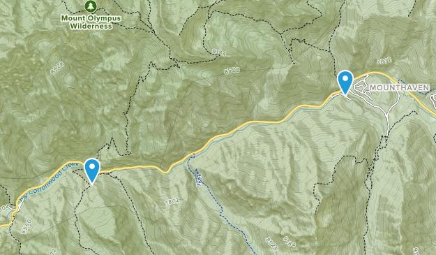 Summer 2016 Hiking Map