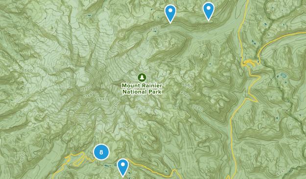 Mount Rainier Map