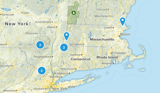 New England Wish List Map