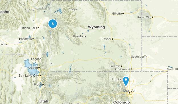 Grand Teton Map