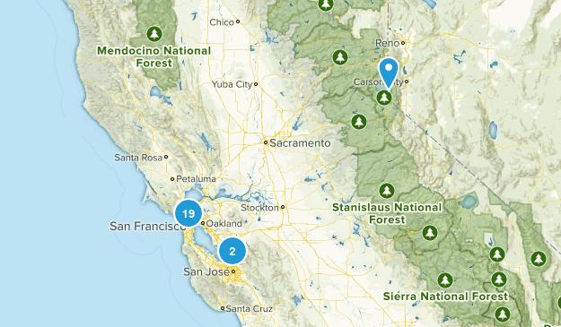 Future Hikes! Map