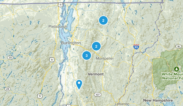 Day trip from Burlington Trails Map