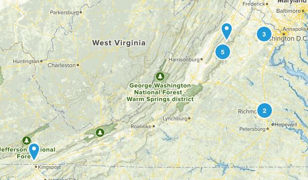 Virginia (to do) Map