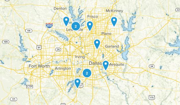 Dallas Area Map