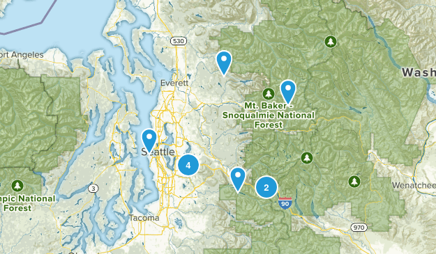 Seattle Trails Map
