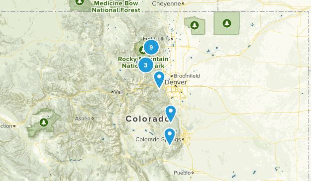 2016 trip Map