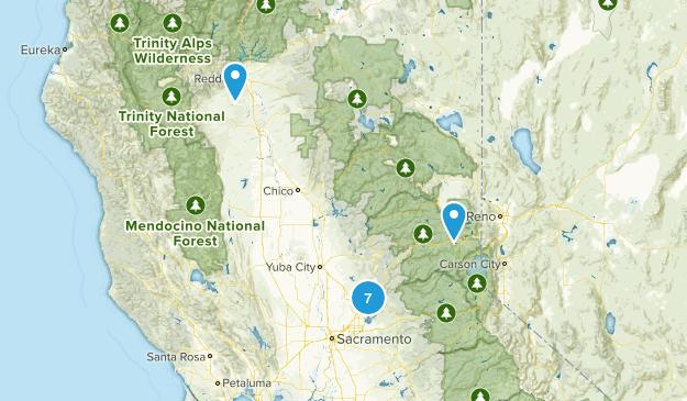 NorCal Trip Map