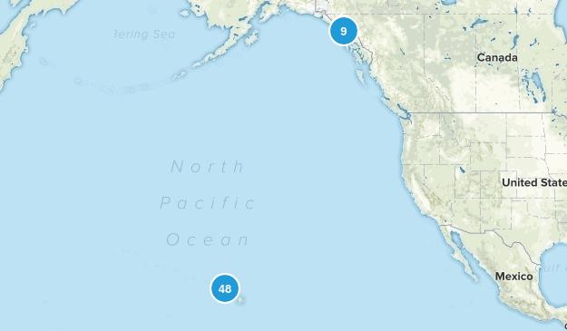 Alaska & Hawaii Map