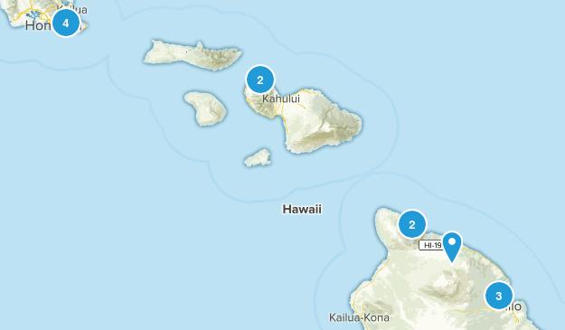 Hawaii Wish List Map