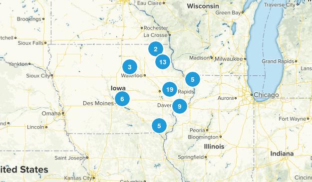 Briley Challenge (Original 71 Trails) Map