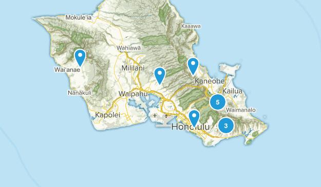 Hawaii Trails Map