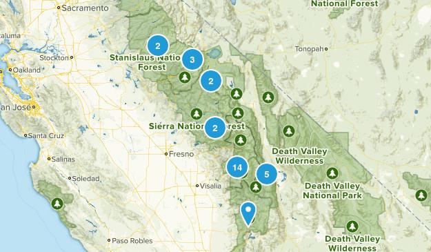 sierra fishing Map