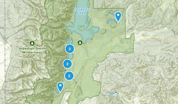 GTNP Map