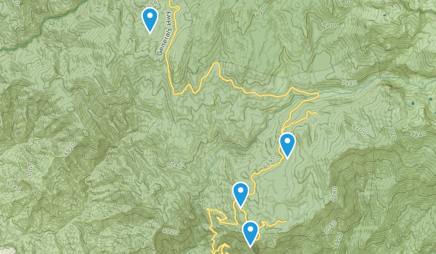 Sequoia Map