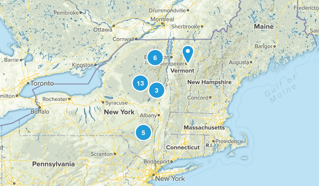 Firetowers Map