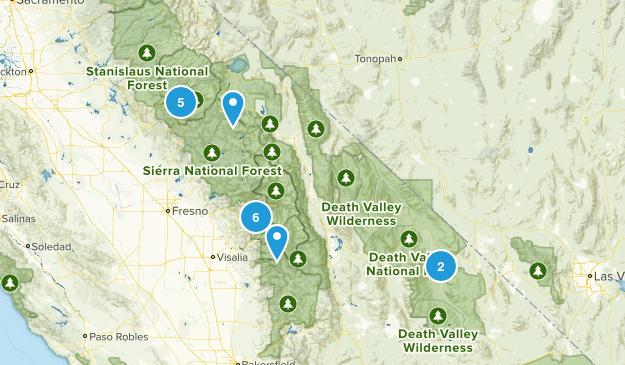 Yosemite Adventure Map