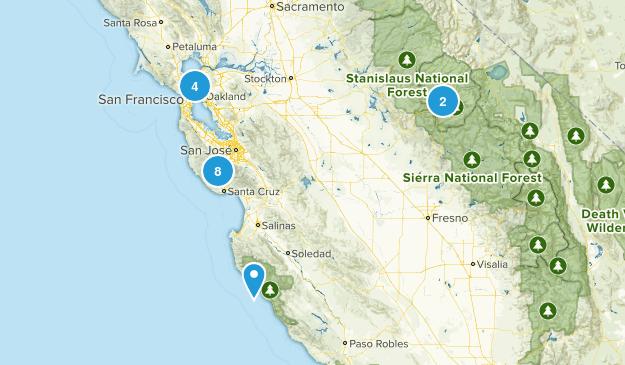 Bay Area Bucket Map