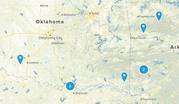 OK/TX Map