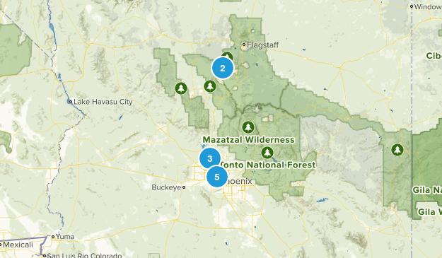 Arizona Trails Map