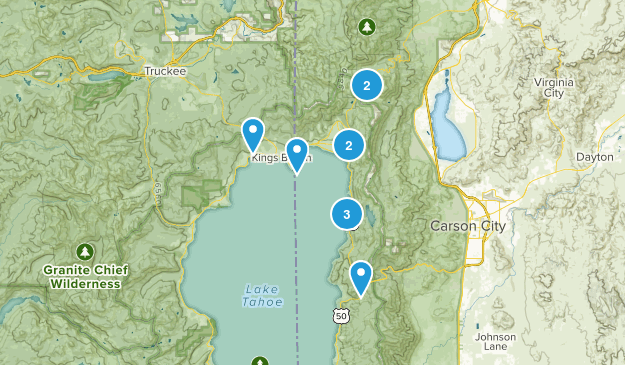 Hikes- North Shore Map