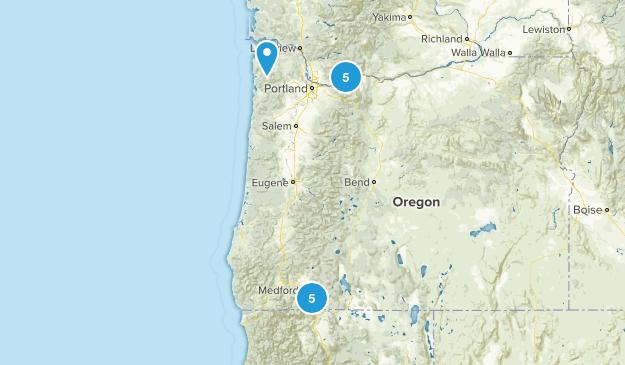 In Oregon Map