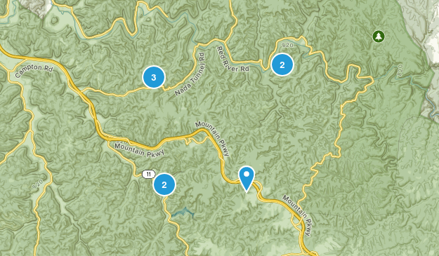 Red River Gorge Map