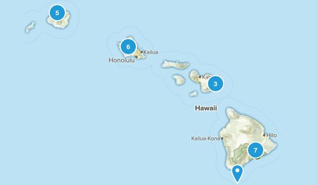 Hawaii 2017 Map