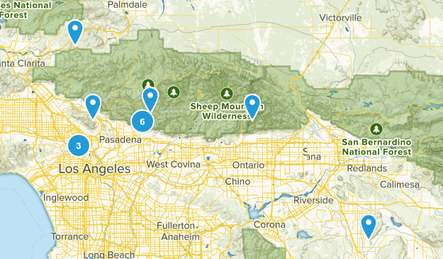 Hikes to check out! Map